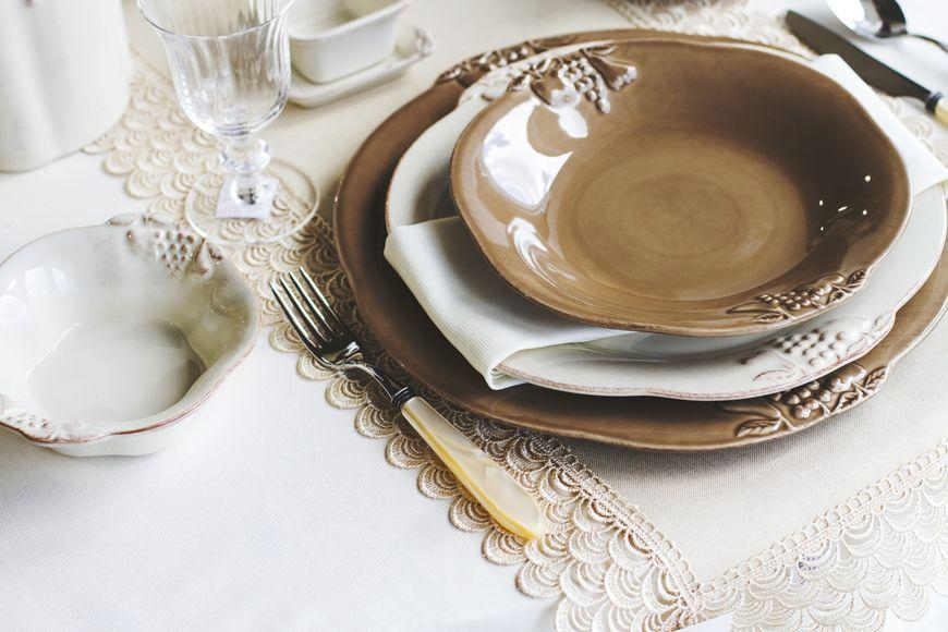 Тарелки для супа 6 шт. Mediterranea  - фото