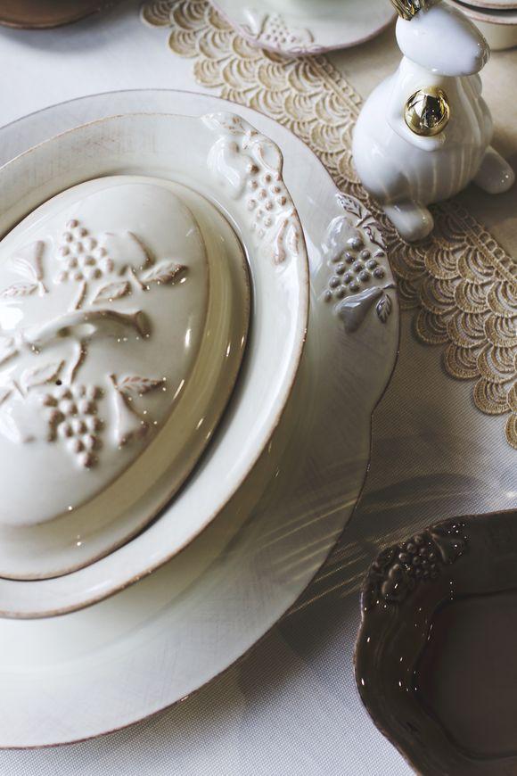 Блюдо для выпечки с крышкой Mediterranea  - фото
