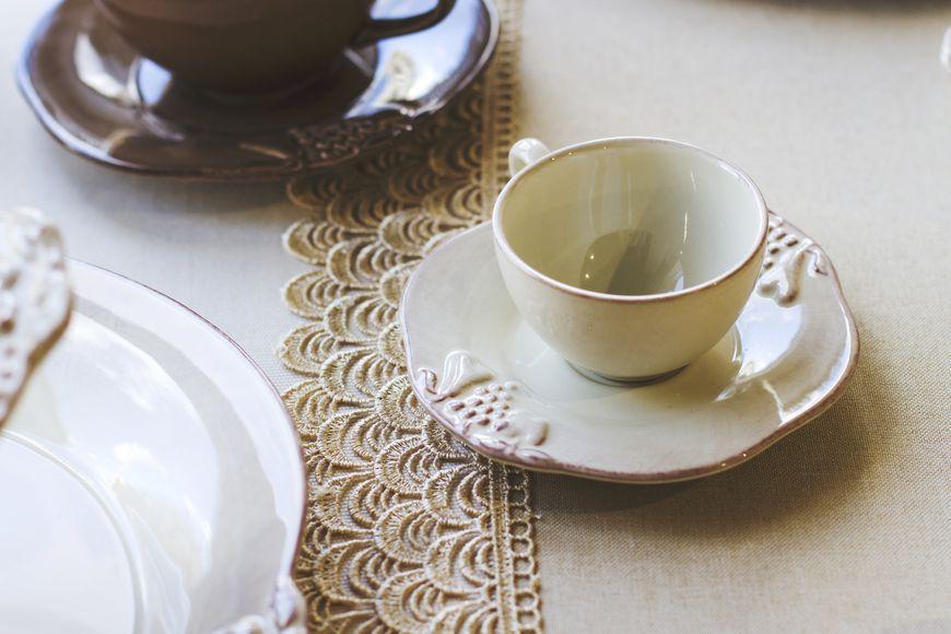 Чашки с блюдцем для кофе, набор 6 шт. Mediterranea  - фото