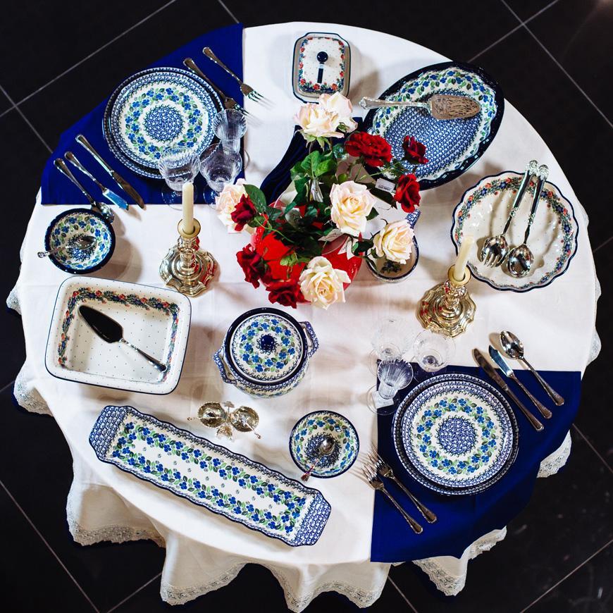 Набор десертных тарелок 6 шт  - фото