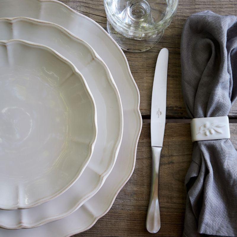 Тарелка большая белая Alentejo  - фото