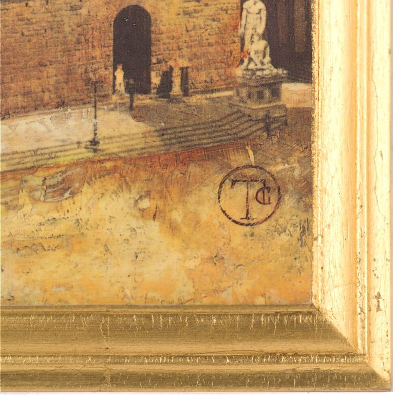 """Картина """"Флоренция"""" Тины Чаден, репродукция на дереве  - фото"""