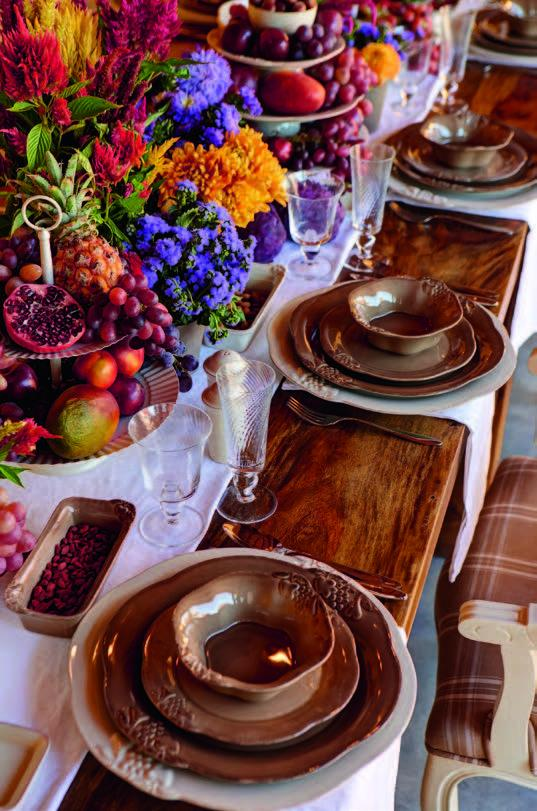 Подставная тарелка большая Mediterranea  - фото