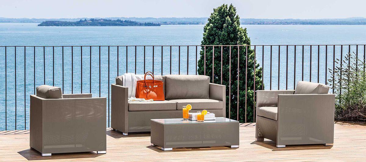 Комплект мебели для улицы кофейный Maiorca  - фото