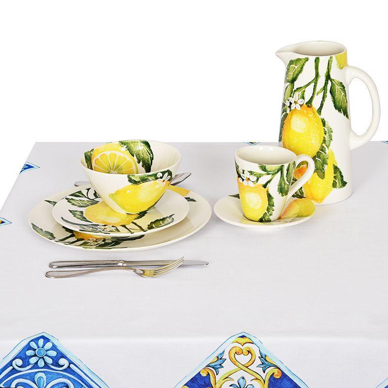 """Пиала керамическая из красочной коллекции посуды """"Солнечный лимон""""  - фото"""