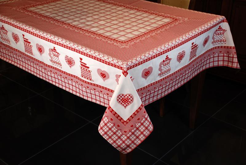 """Гобеленовая скатерть на кухонный стол """"Уютная""""   - фото"""