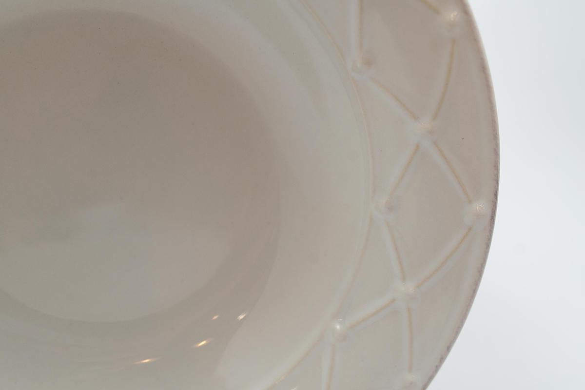 Тарелка для супа Nova Meridian белая 23 см  - фото