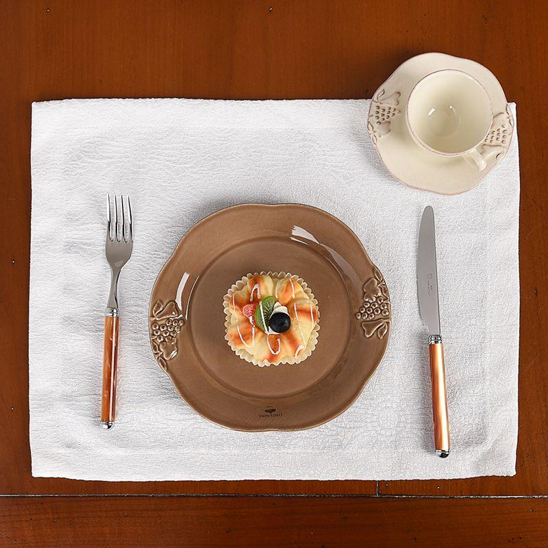 Тарелка салатная с волнистым краем Mediterranea  - фото