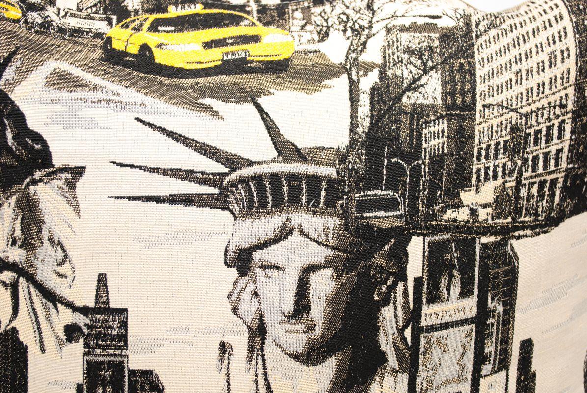 """Наволочка лофт """"Нью-Йорк""""  - фото"""