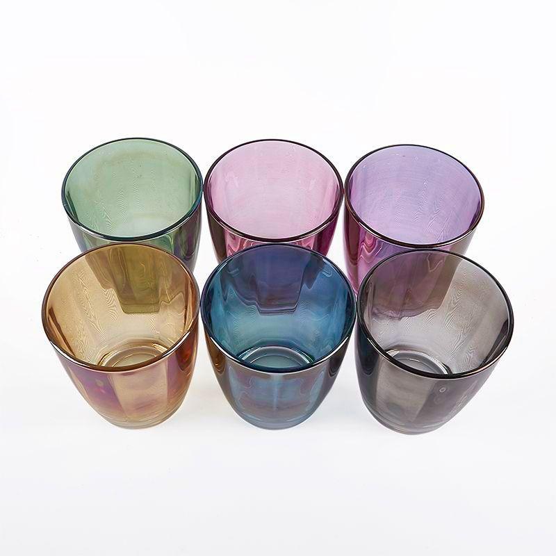 Набор из 6-ти разноцветных стаканов    - фото