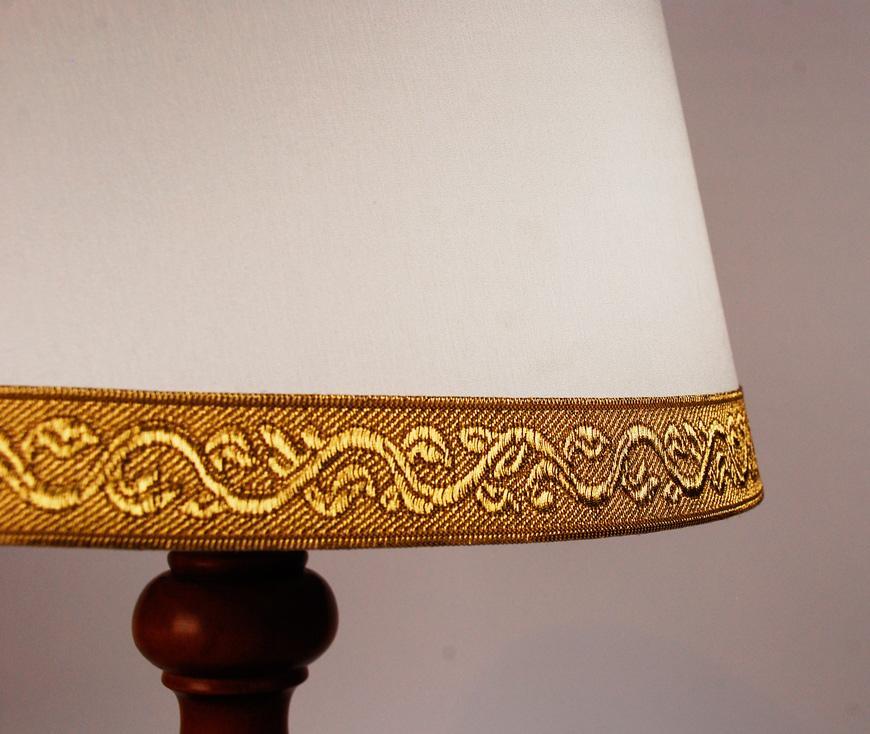 Настольная лампа с конусным абажуром Leone Aliotti  - фото