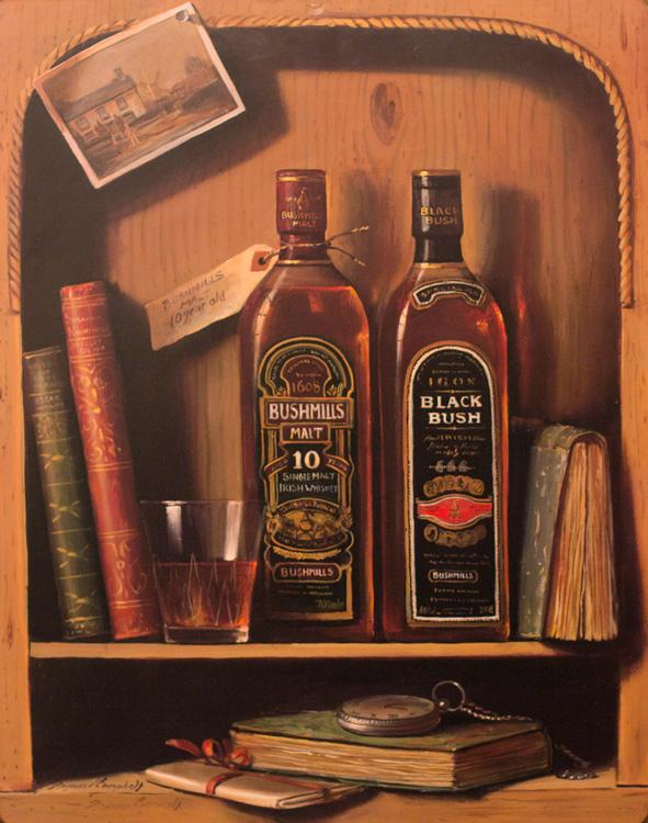 "Набор из 3-х картин ""Виски""  - фото"