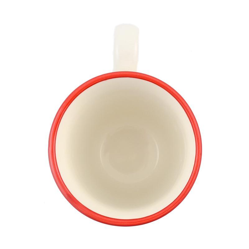 Большая подарочная чашка из новогодней коллекции «Зимний букет»  - фото
