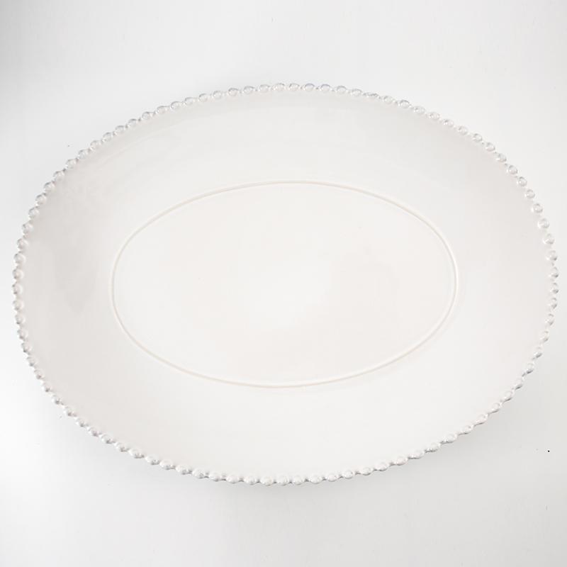 Блюдо для утки овальное Pearl  - фото