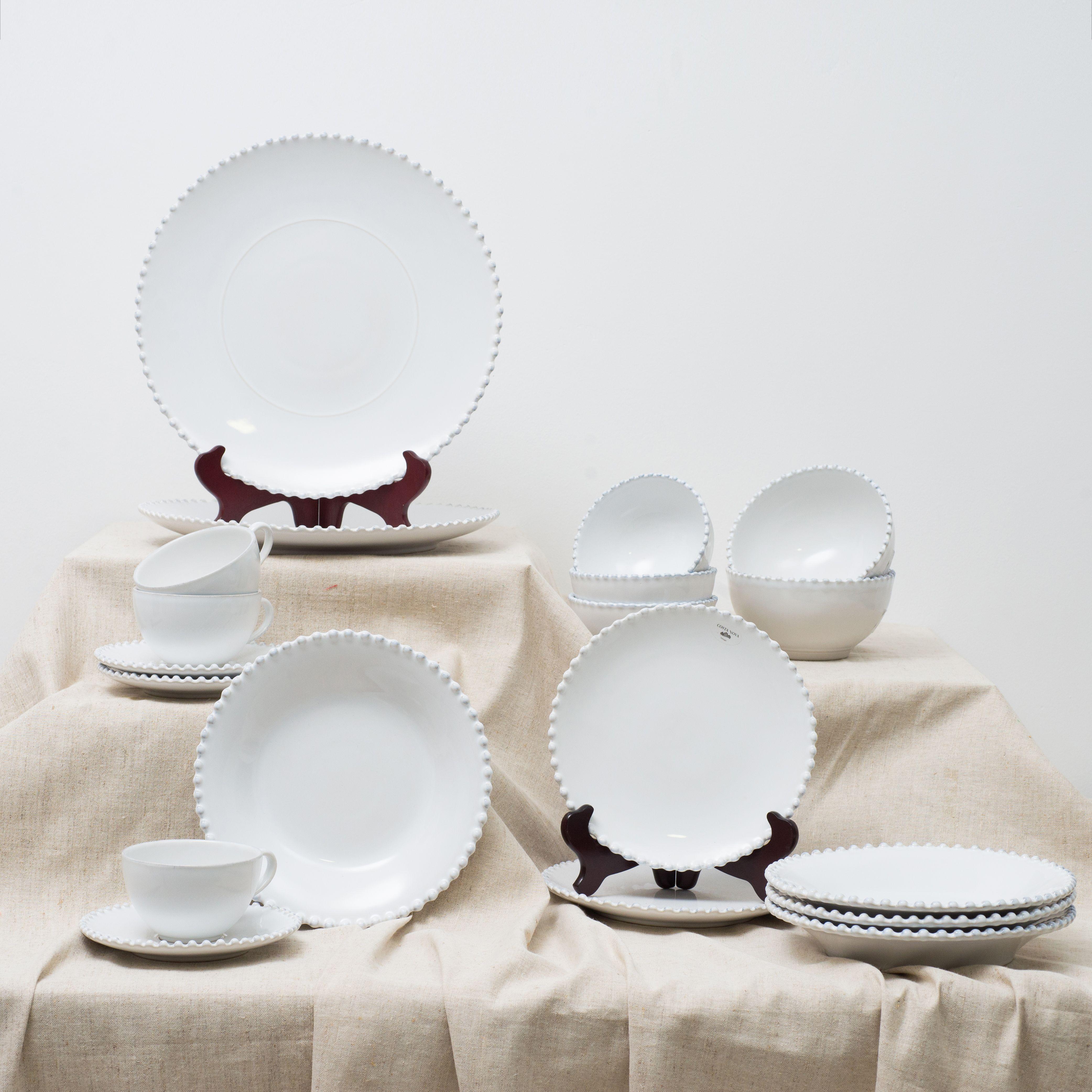 Тарелка для салата Pearl  - фото