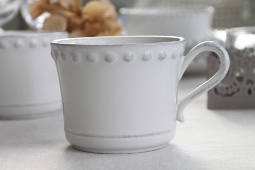 Белая чашка 300 мл Pearl  - фото