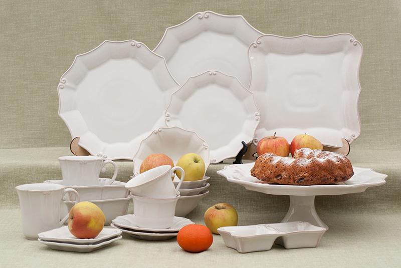 Обеденные тарелки 27 см Barroco, набор 6 шт  - фото