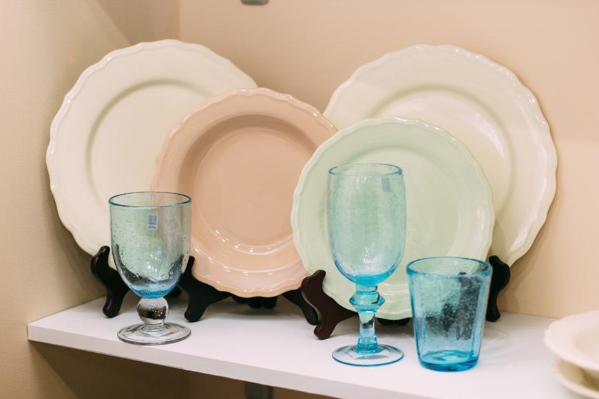 Набор 6 подставных тарелок Claire  - фото