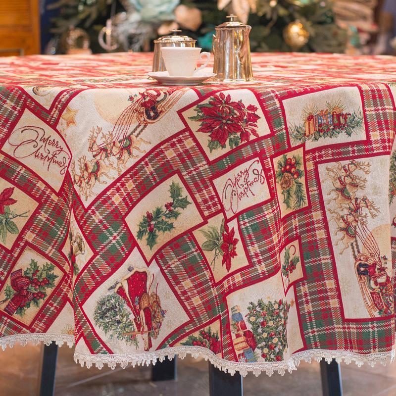 "Текстиль ""Счастливого Рождества""  - фото"