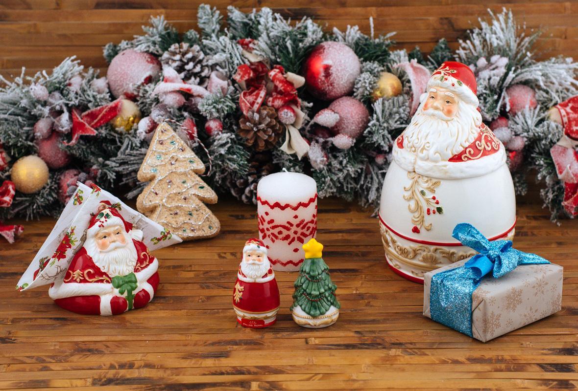 Набор Санта (соль+перец)  - фото