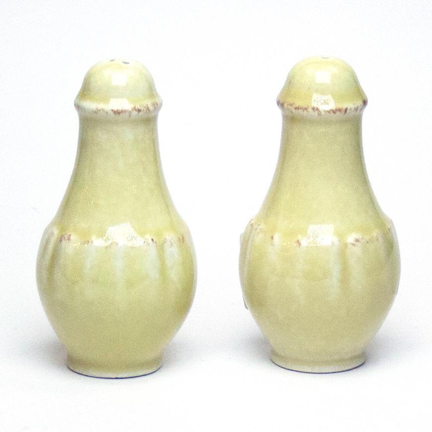 Набор емкостей для соли и перца желтый Impressions  - фото