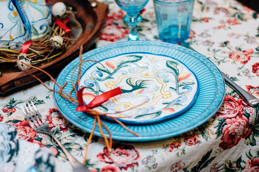 Тарелка обеденная Venezia Turch  - фото