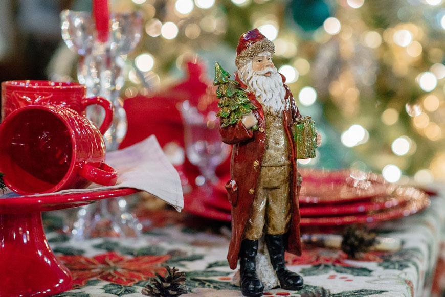 Статуэтка Санта  - фото