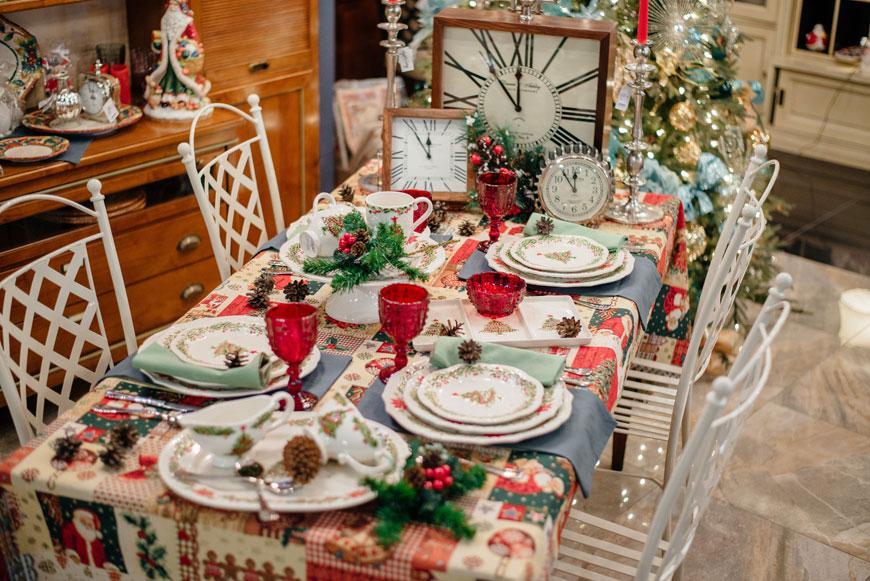"""Блюдо овальное """"Рождество""""  - фото"""