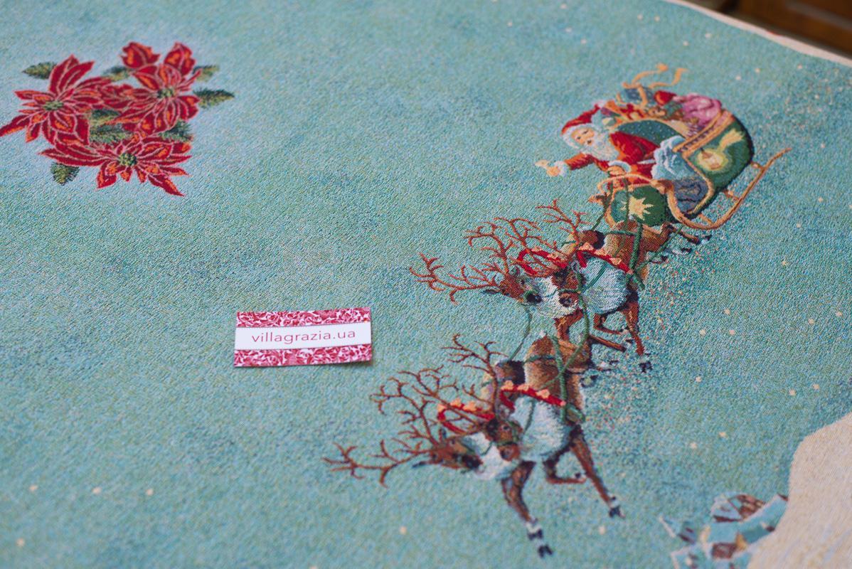 """Новогодние скатерти из Испании """"Рождество""""  - фото"""