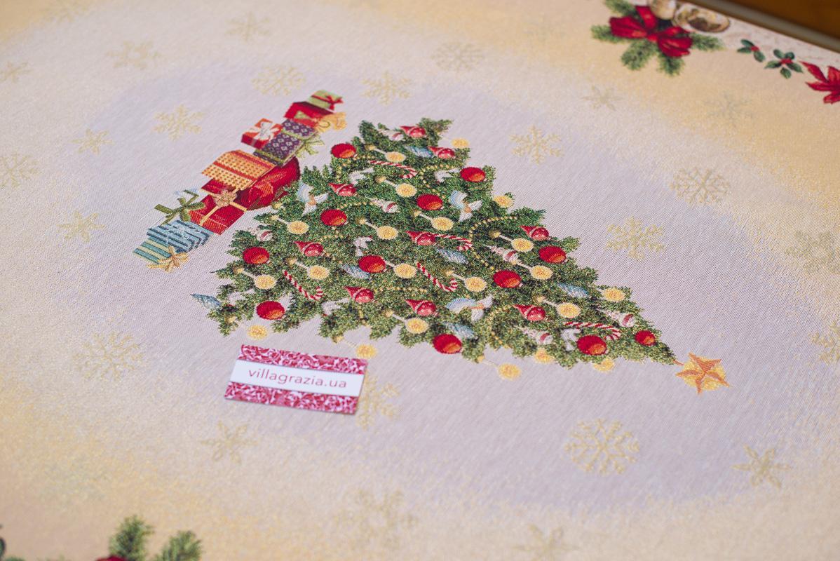 """Нарядные скатерти на Новый Год """"Серпантин""""  - фото"""