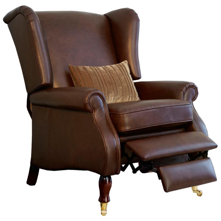 Кресло-реклайнер с откидной спинкой York A  - фото