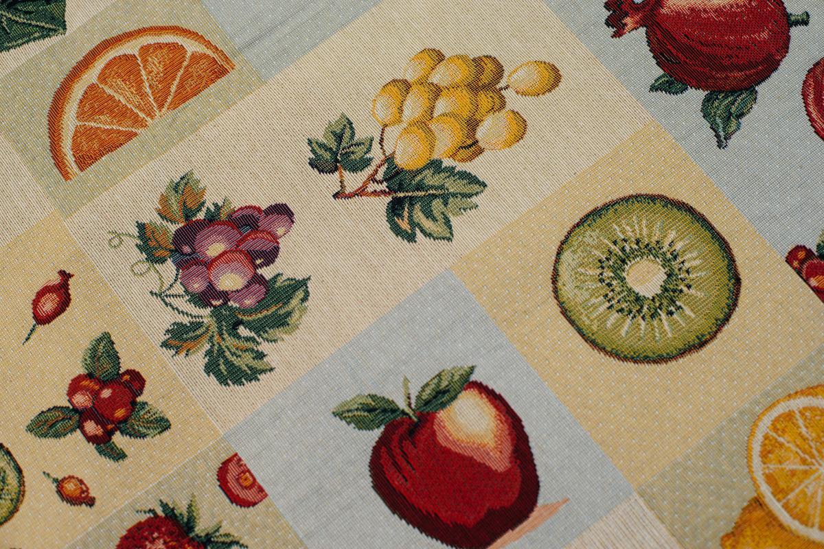 """Скатерть """"Ягоды и фрукты""""  - фото"""