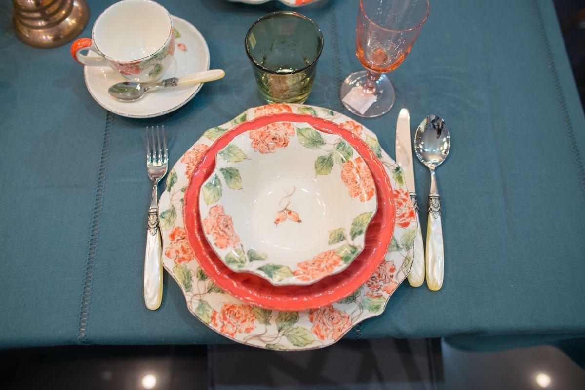 Набор 6 тарелок Dalia  - фото