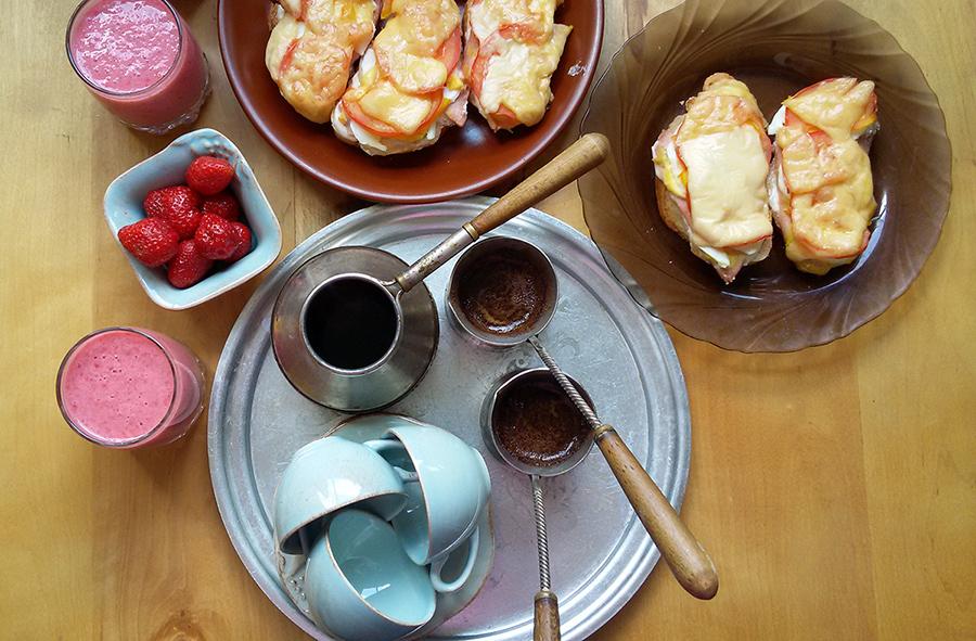 Фото-отзыв пользователя к товару: Чашки с блюдцем голубые для кофе, набор 6 шт. Mediterranea