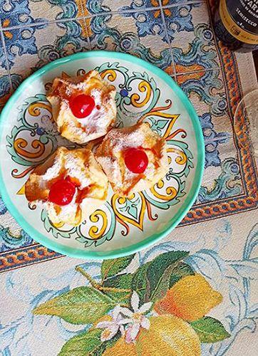 Фото-отзыв пользователя к товару: Десертная тарелка из небьющегося меламина Medicea