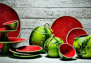 Подарок женщине посуда в форме овощей