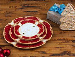 Обзор новогодней посуды в Villa Grazia