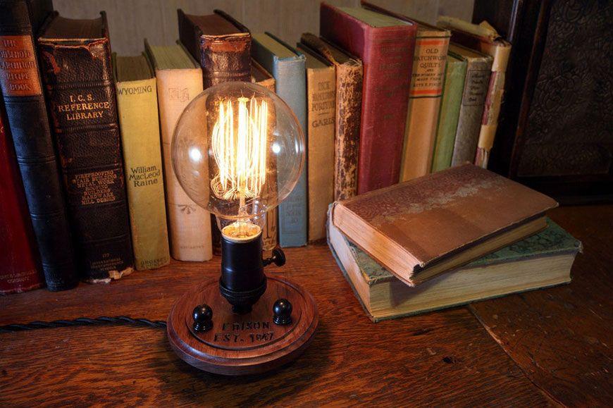 Светильник эдисона своими руками 26