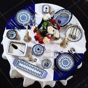 Сервировка от Инны Соколовой Ужин при свечах
