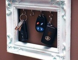 diy-picture-frame-key-holder