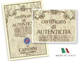 Capanni — дух времени и антикварные реплики