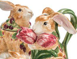 Новинка - пасхальные кролики от Fitz and Floyd