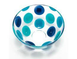Пиала суповая Dots Blue