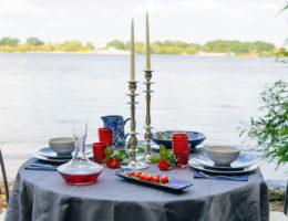 Сервировка стола «Дыхание океана»