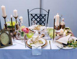 «Свадебная сервировка в стиле рустик» от Натаровой Елены