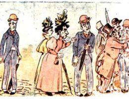 Карикатуры Рафаэля Бордало Пинейру
