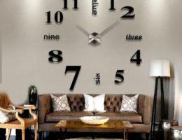 Часы настенные в интерьере