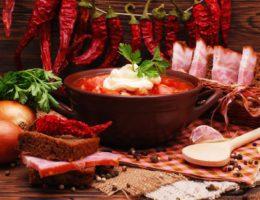 традиционная украинская кухня