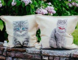 гобеленовые подушки