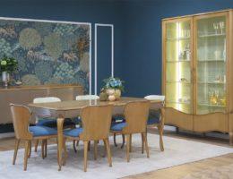пример оформления столовой мебелью AM Classic